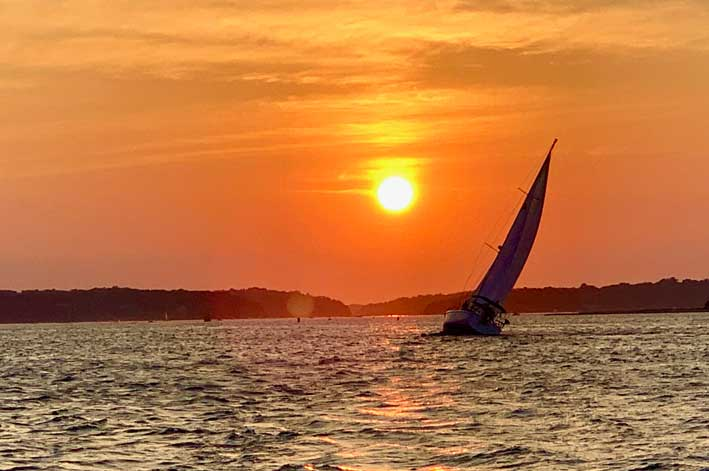 Sunset Cruise - Kismet Cruising - Northport NY