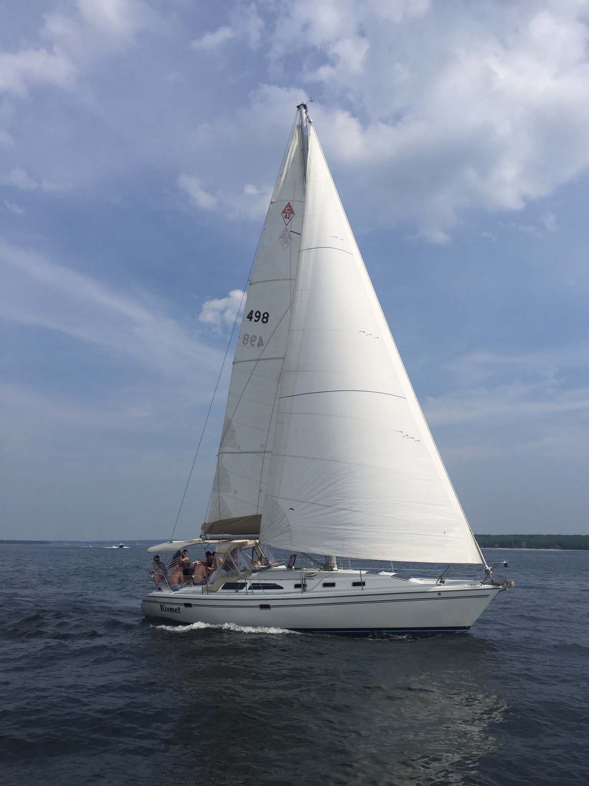 Sailboat for Day Charter - Northport NY